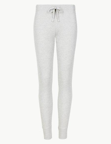 Cotton Blend Long Pant Pyjama Bottoms