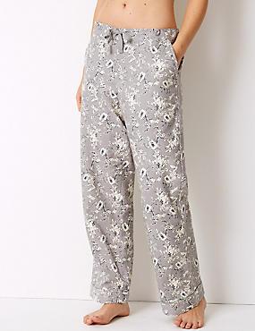 Floral Print Long Pant Pyjama Bottoms