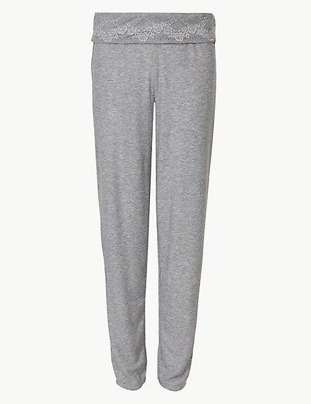 Ribbed Pyjama Bottoms