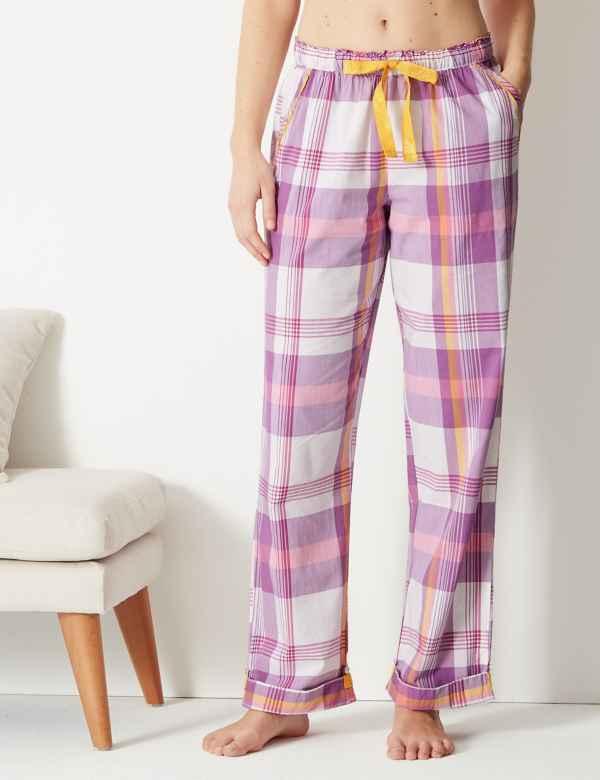 d3d624884 Checked Pyjama Bottoms