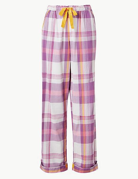 Checked Pyjama Bottoms