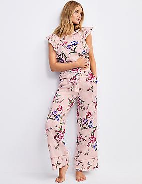 ded433c39 Parte de abajo de pijama floral 100% modal