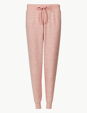 Cosy Lounge Pyjama Bottoms, PALE PINK MIX, catlanding