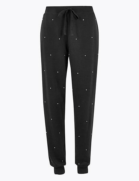 Flexifit™ Studded Drawstring Pyjama Bottoms