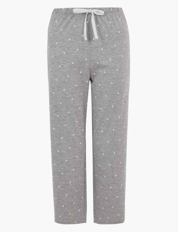 Pink Grey Ladies Jersey sleep shorts 10 or 12 size 8