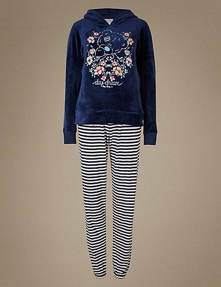 Printed Tatty Teddy Long Sleeve Pyjama Set