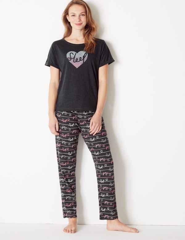 b01efe0ad8d Sleep Short Sleeve Pyjama Set