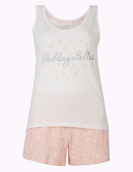 Bridesmaid Printed Short Pyjama Set