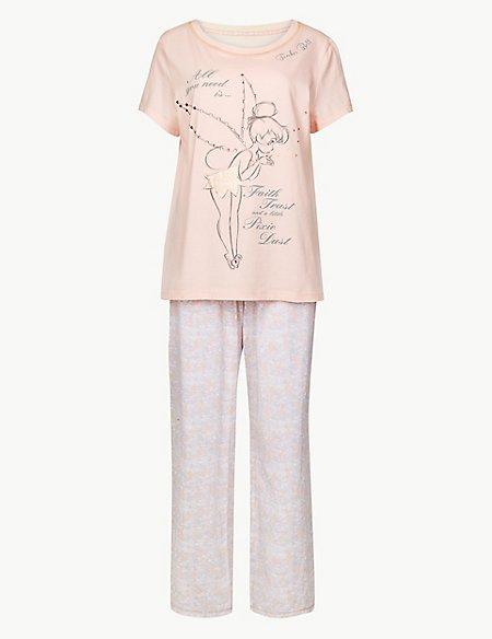 Pure Cotton Tinkerbell Pyjama Set