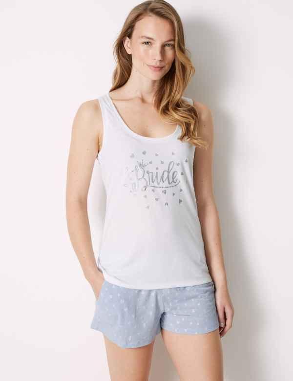 Bride Heart Short Pyjama Set 4e3f3fbd2