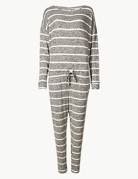 Striped Long Sleeve Onesie