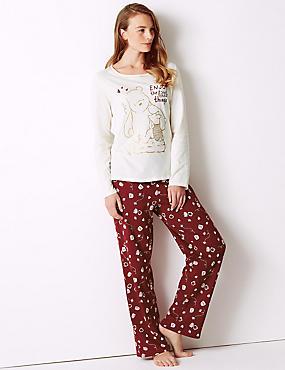 Pure Cotton Winnie the Pooh & Friends™ Pyjama Set