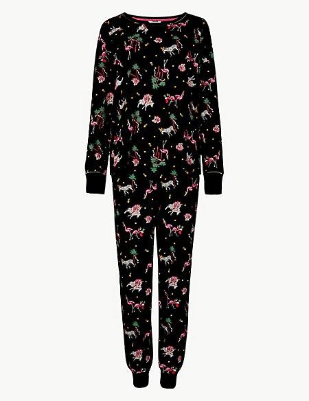 Cotton Rich Safari Print Pyjama Set