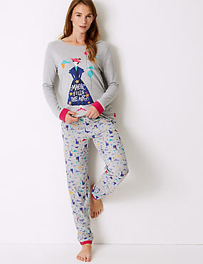 Pure Cotton Mary Poppins Pyjama Set