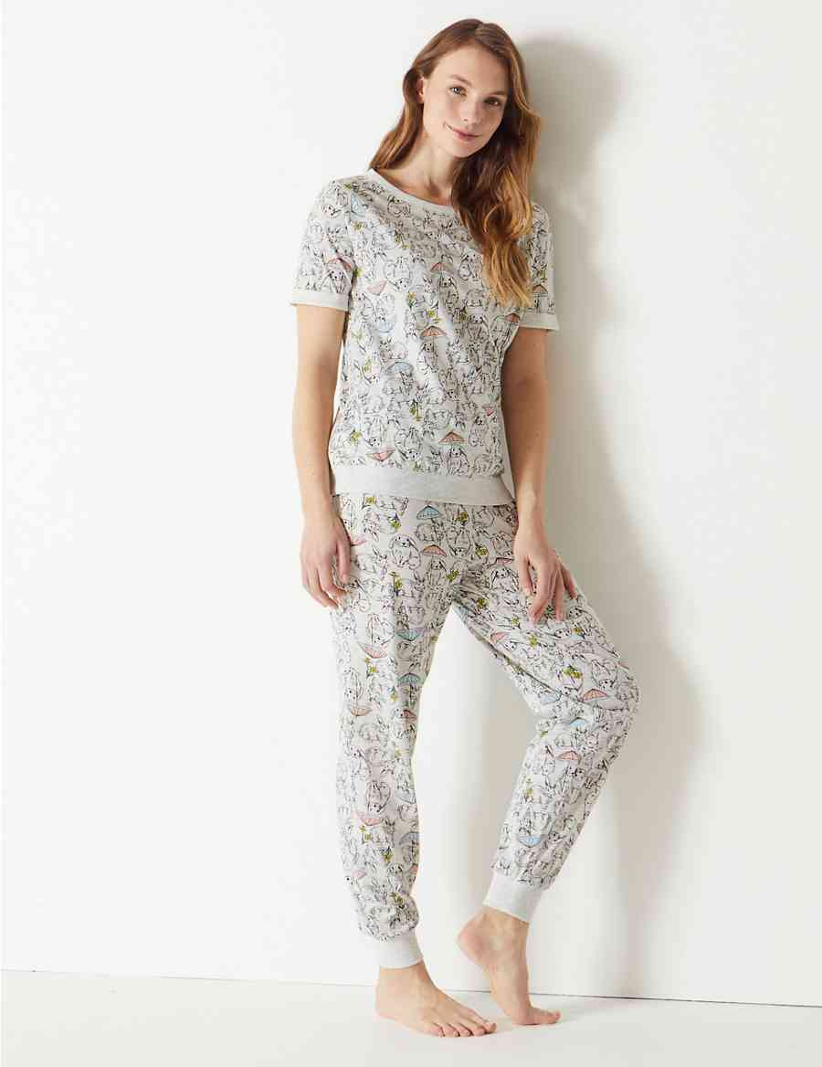 ef6ebb2853 Cotton Rich Bunny Pyjama Set
