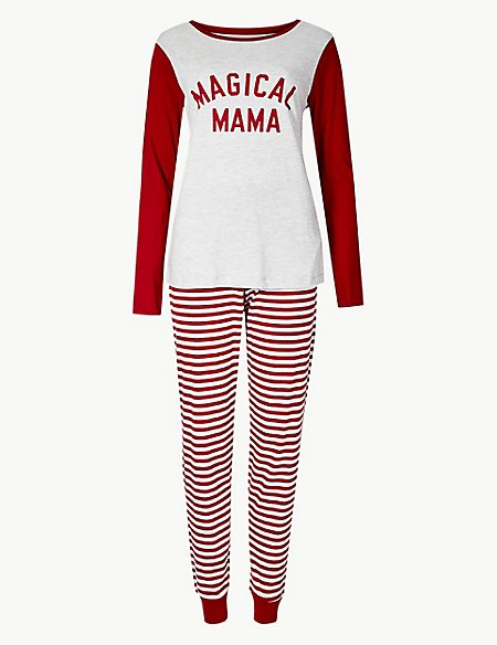 Magical Mama Long Sleeve Pyjama Set