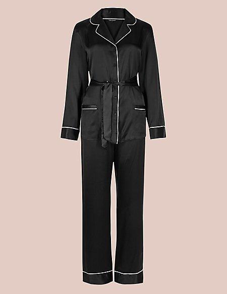 Pure Silk Long Sleeve Pyjama Set