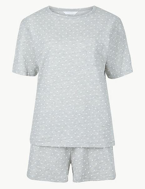 Polka Dot Short Pyjama Set