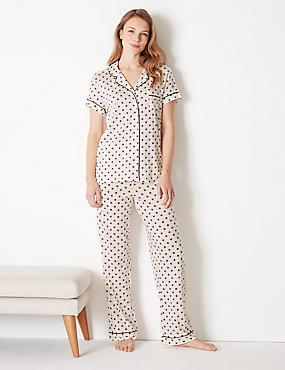 Cool Comfort™ Cotton Modal Star Pyjama Set ... 6cc274e574