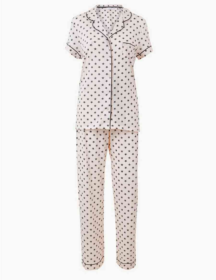 Cool Comfort™ Cotton Modal Star Pyjama Set  103e6ad2a