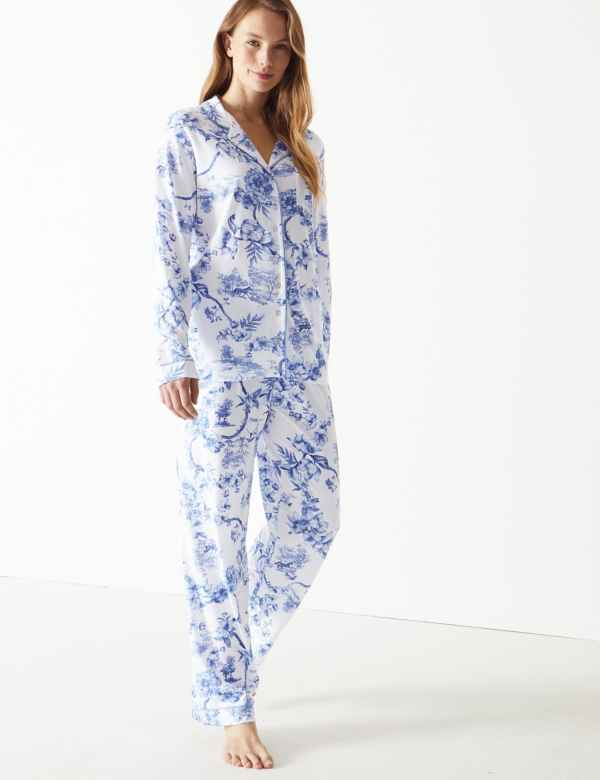 6b5242bb9823 Cool Comfort™ Cotton Modal Floral Pyjama Set