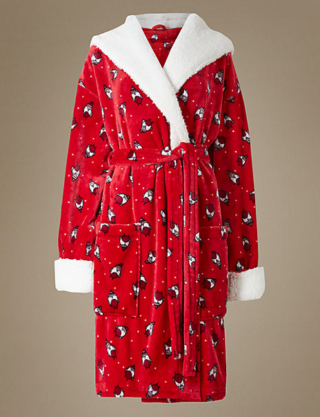 Robin Print Dressing Gown