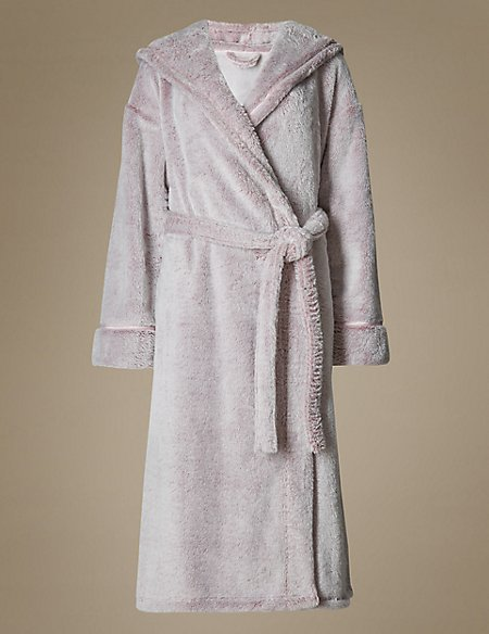 Hooded Dressing Gown | M&S Collection | M&S