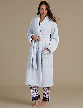 Belted Long Dressing Gown