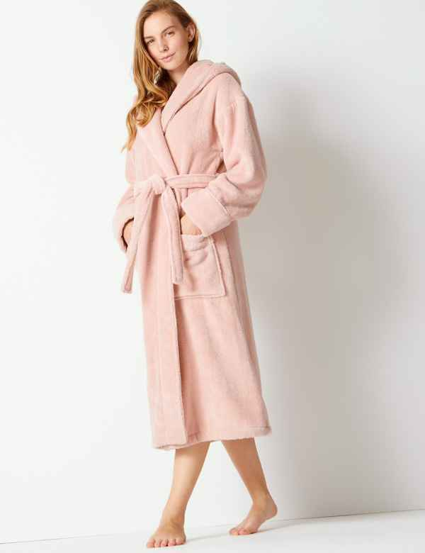 Pure Cotton Towelling Dressing Gown 2878bbc99