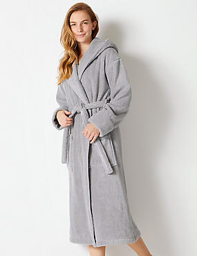 Pure Cotton Towelling Dressing Gown ... 6f11ef844