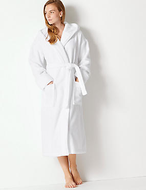Pure Cotton Towelling Dressing Gown