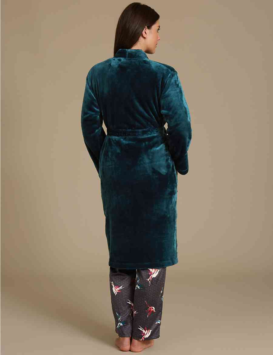 Shimmersoft trade  Tie Front Dressing Gown 2bd3f751e