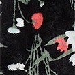 Shimmersoft™ Floral Print Dressing Gown, BLACK MIX, swatch