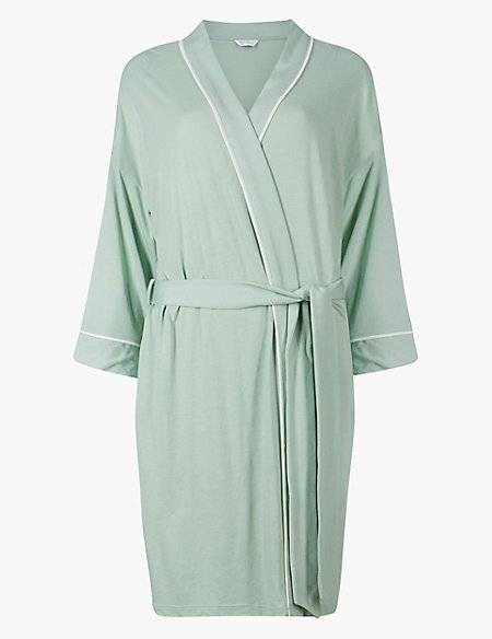 Bridesmaid Tie Front Wrap Dressing Gown