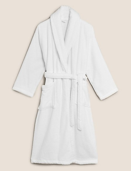 Pure Cotton Towelling Dressing Gown | M&S Collection | M&S