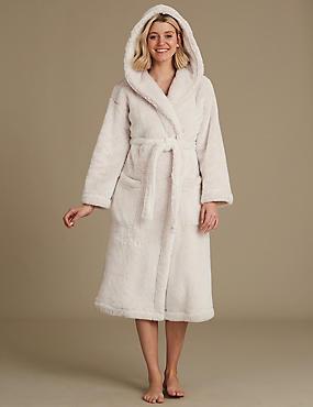 Sexy women wearing robes