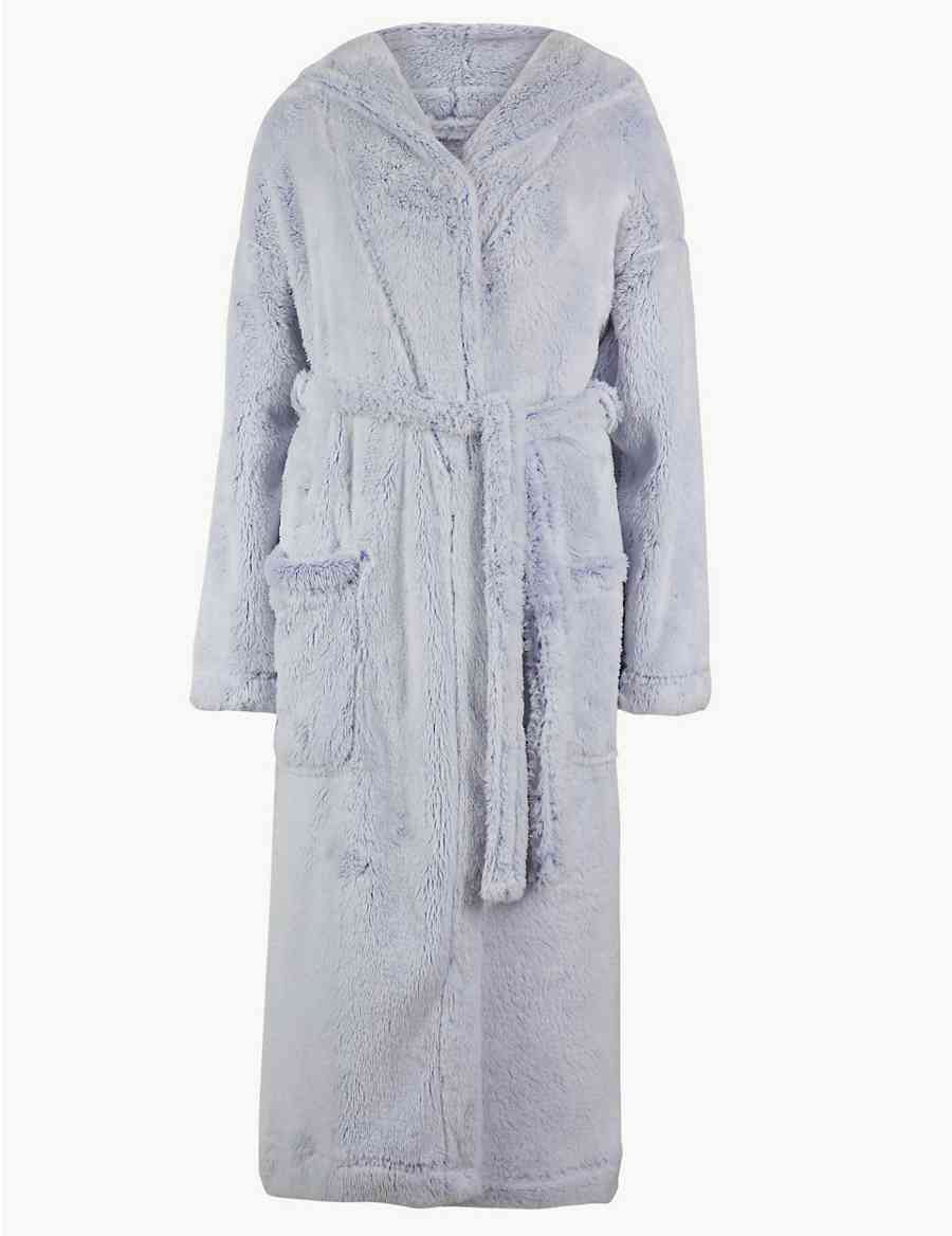 Supersoft Hooded Dressing Gown  a957d7780