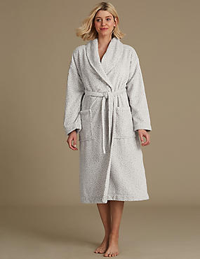 Supersoft Textured Dressing Gown