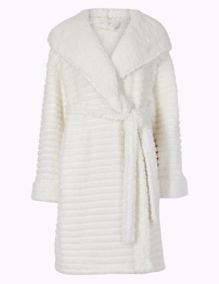 Fleece Novelty Hooded Dressing Gown by Marks & Spencer