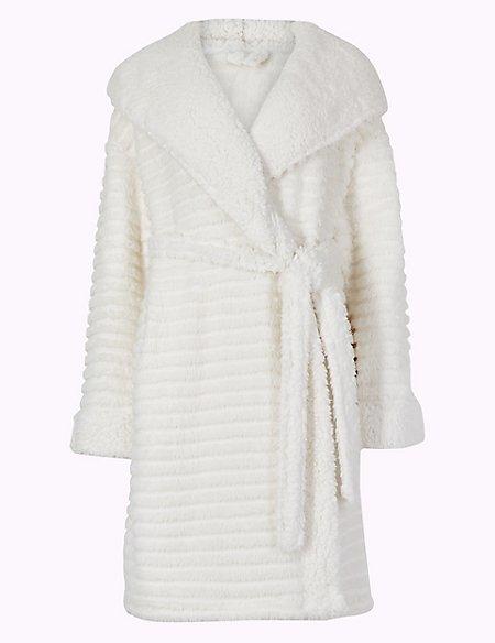 Fleece Novelty Hooded Dressing Gown
