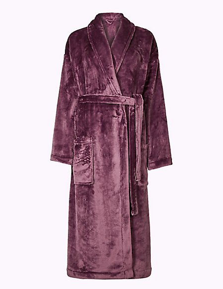 Supersoft Long Sleeve Dressing Gown