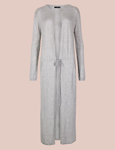 Modal Blend Textured Dressing Gown