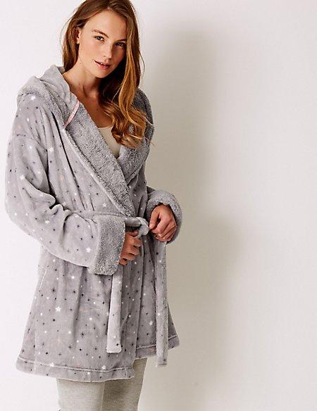 Fleece Tinkerbell Print Dressing Gown  23b34bbc9