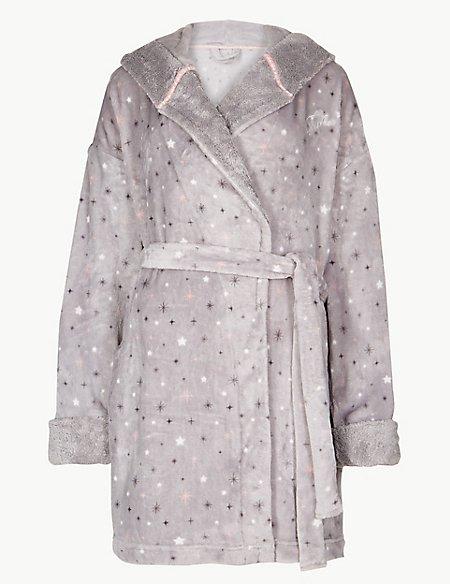 Fleece Tinkerbell Print Dressing Gown | M&S Collection | M&S