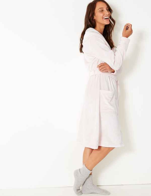d9887833f5 Sparks. Fleece Button Dressing Gown