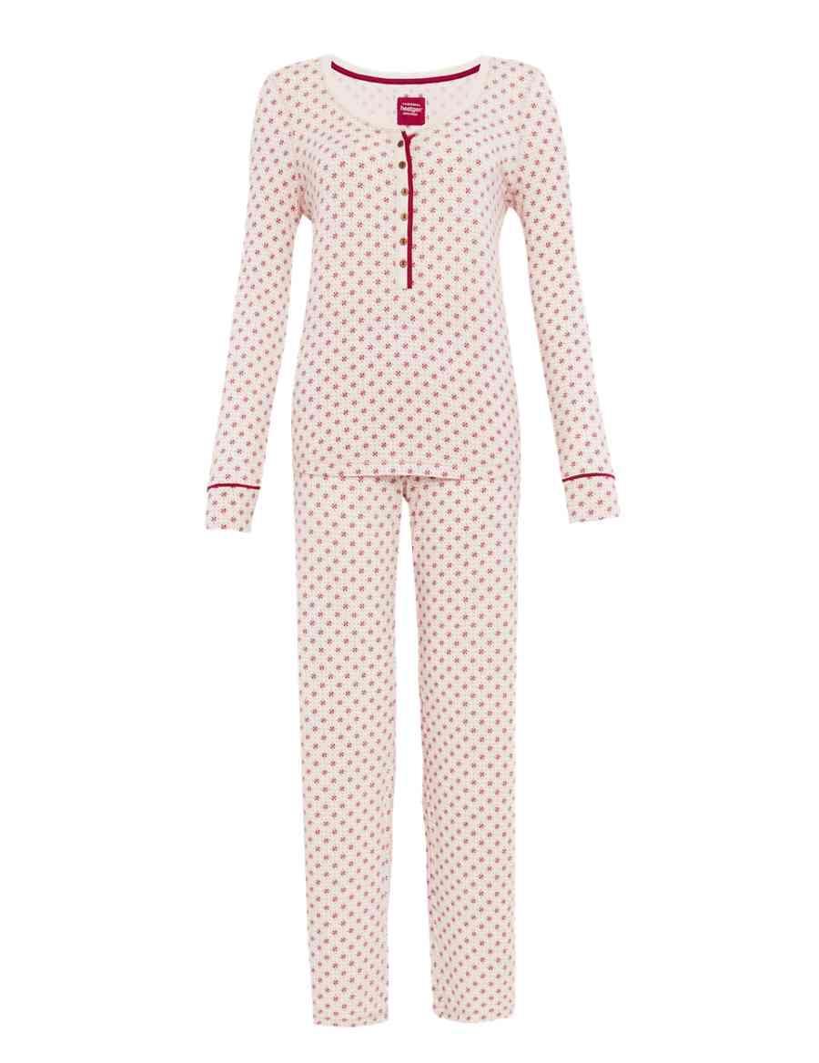 fdeccdae5a Heatgen™ Geometric Print Thermal Pyjamas