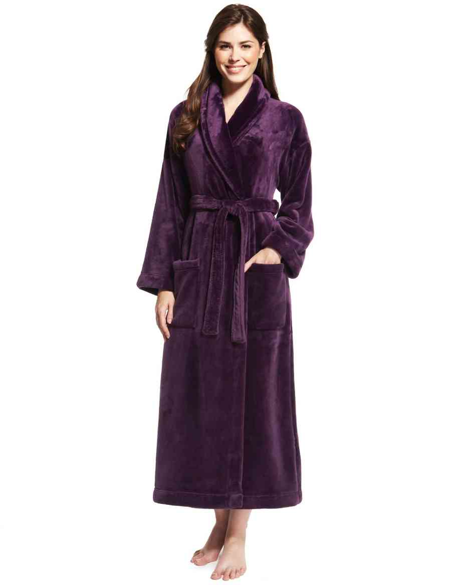 Shimmer Soft trade  Dressing Gown 9f750a0b1