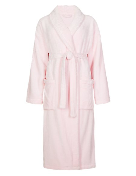 Shimmer Soft™ Dressing Gown | M&S Collection | M&S