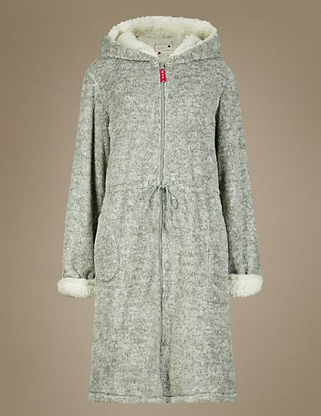Hooded Tatty Teddy Dressing Gown | M&S Collection | M&S
