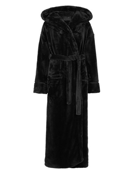 Hooded Luxury Dressing Gown